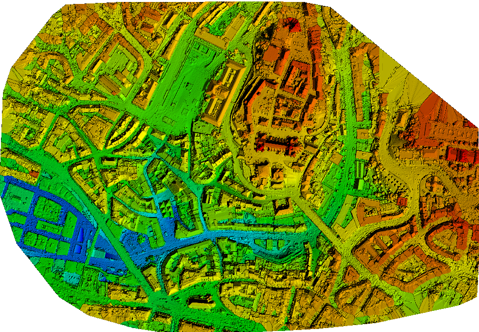 How to automatically generate a Digital Terrain Model (DTM