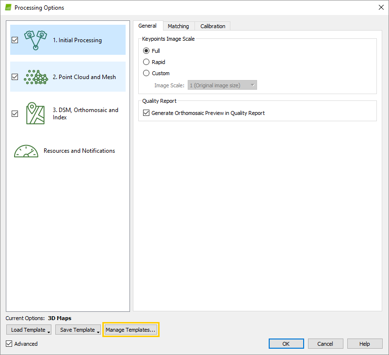 How to import a Processing Options Template – Support