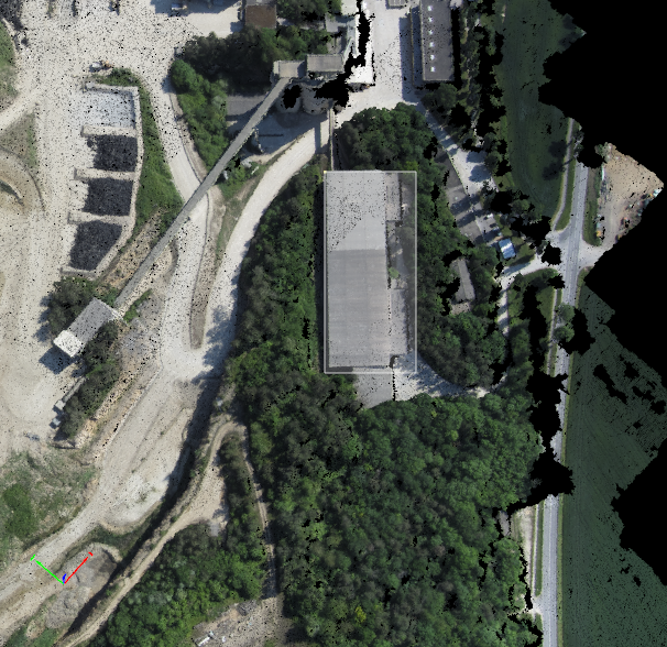 How to edit the point cloud in the rayCloud – Support