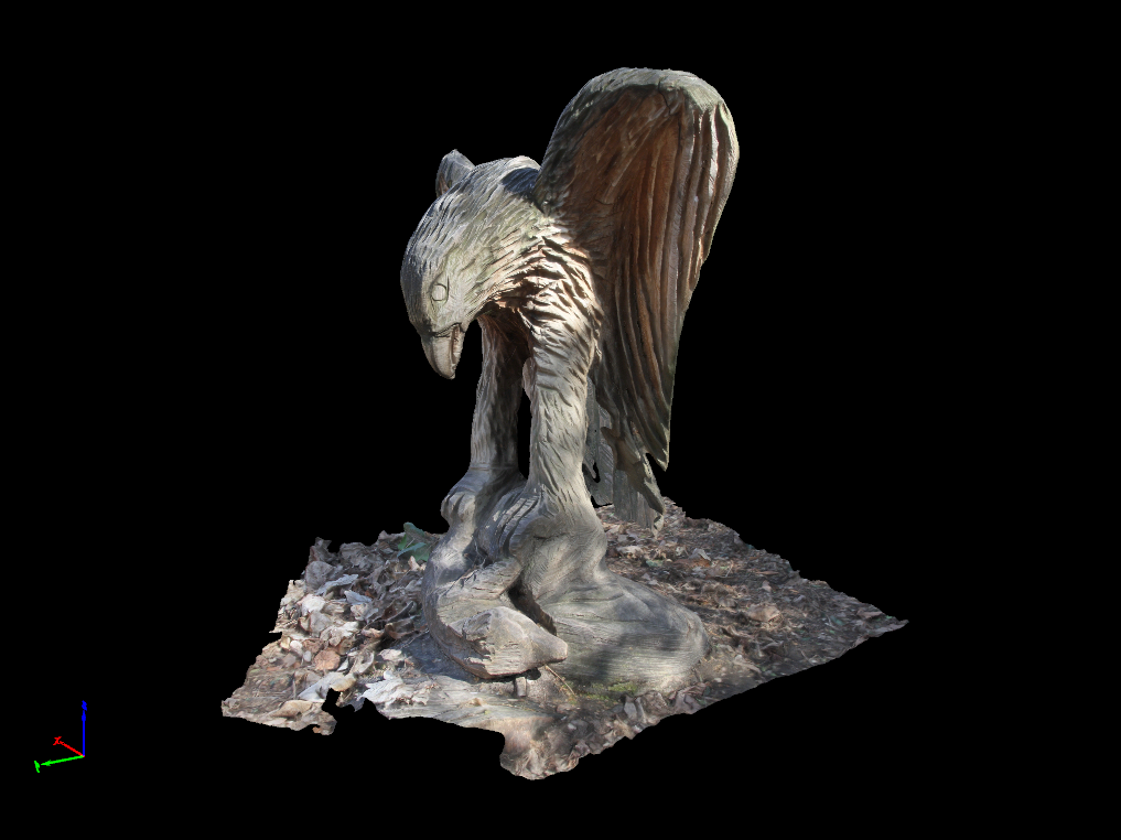 What is    (a densified point cloud? an orthomosaic? etc